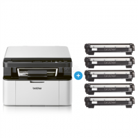 BROTHER DCP1610WVB MFP Laser + 5 toners